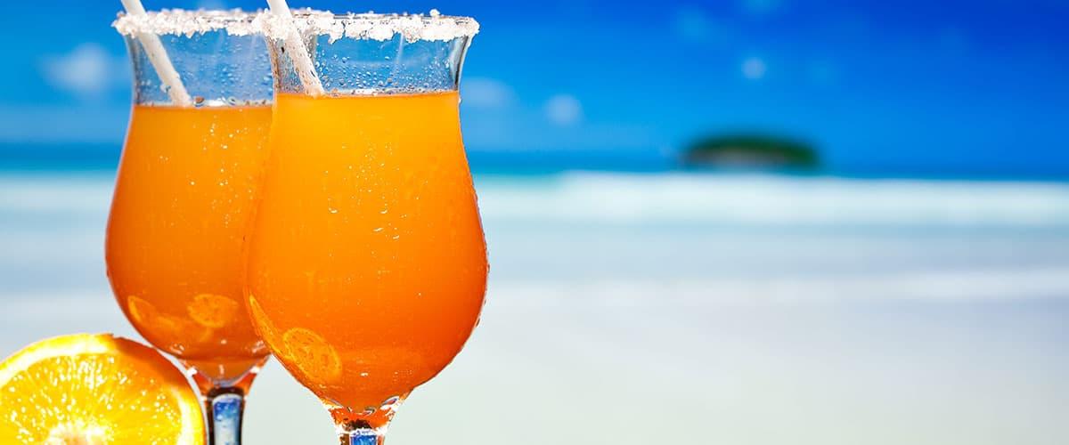Cocktail Strand Tor zur Seele