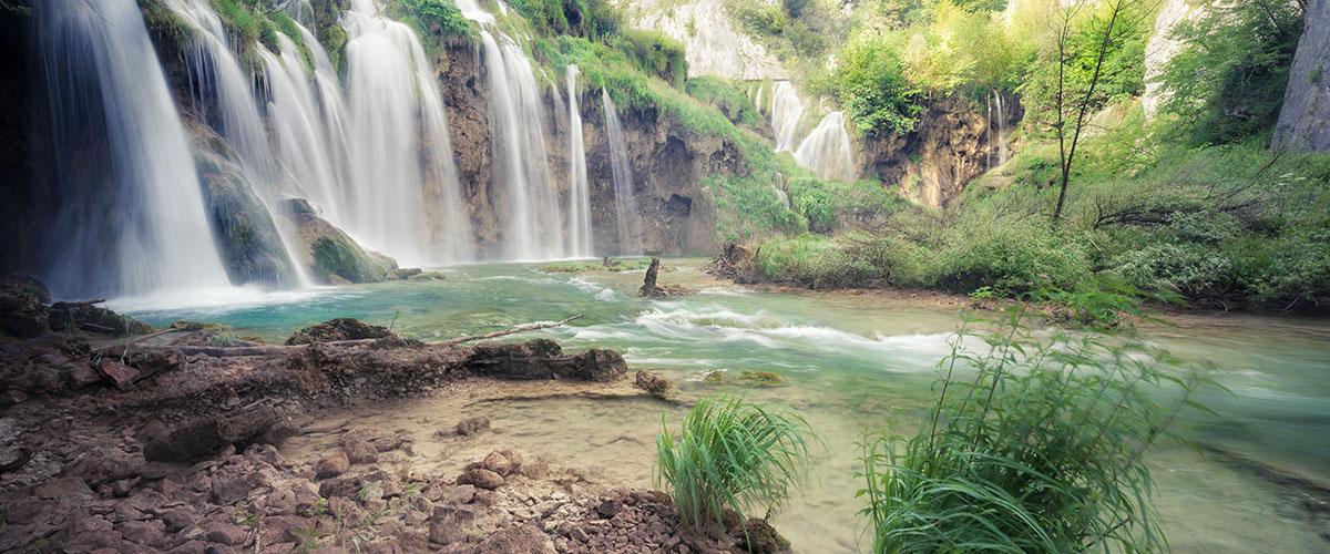 Wasserfall Tor zur Seele
